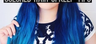 Colored Hair Maintenance Tips