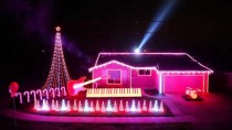 Best of Star Wars Music Light Show – Home featured on ABC's Great Christmas Light Fight!