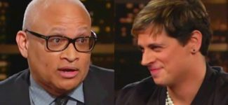 Bill Maher Milo Yiannopoulos Interview 2/17/2017 Larry Wilmore to Milo  'You Can Go F Yourself'