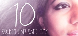 Golden Tips for Hair Care