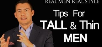 Styles for the Tall – Thin – Skinny Man