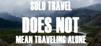 Why You Should Travel Solo