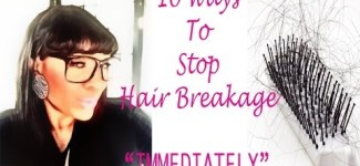 Ways to Stop Hair Breakage