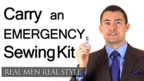 Travel Man Style Tip – Always Carry an Emergency Sewing Kit