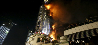 Massive Fire Breaks Out at Dubai Address Hotel