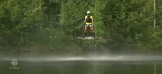 A Canadian has invented a hoverboard THAT ACTUALLY FLIES
