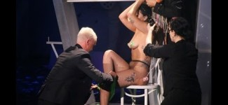 Lady Gaga (NAKED) ArtRAVE Ratchet Live in Antwerp