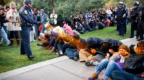 Police mace peaceful California students at an OWS protest