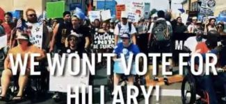 "#NEVERHILLARY: Thousands of Pissed off People Crash the DNC, Boo Every Time They Hear ""Hillary"""