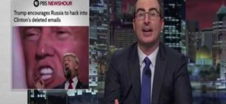 John Oliver Asks Donald Trump To DROP OUT Last Week Tonight HBO