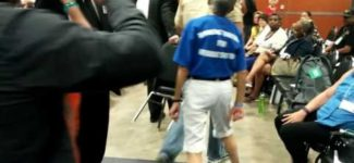 The DNC Wonders Why There Is No Unity. Maybe Don't Assault Your Delegates?