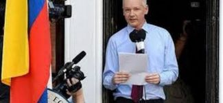 2012 Julian ASSANGE speech at the Ecuadorian Embassy !